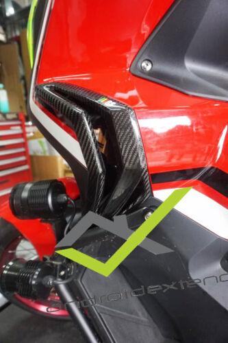 HONDA X-ADV 750 FRONT SIDE FAIRING PROTECTIVE PANELS CARBON 1 SET