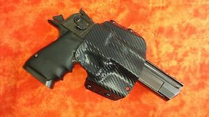 HOLSTER-BLACK-CARBON-amp-ORANGE-TWO-TONE-KYDEX-FITS-DESERT-EAGLE-357-44-50-AE