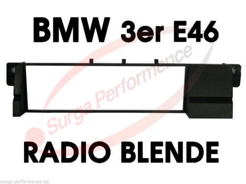 BMW 3er E46 Radio Blende Auto Radio Rahmen Adapter für DIN Autoradio />/> NEU /</<