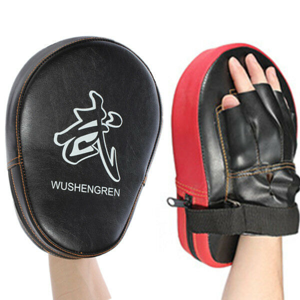 1PC MMA Target Focus Punch Pad Boxing Mitts Training Glove Karate Muay Thai Kick