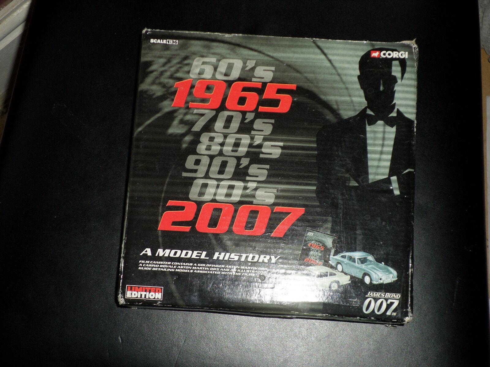 James Bond Aston Martin DB5 2-piece set_Brand New_Bargain