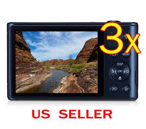 3x-Samsung-WB30F-Clear-LCD-Screen-Protector-Guard-Shield-Film