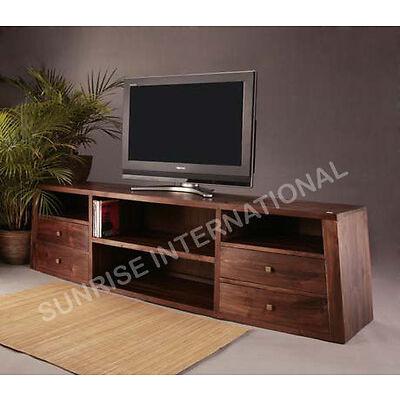 Long Wooden Tv Cabinet / Tv Unit  For Modern Home !!