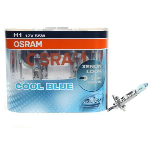 Osram FahrzeuglampeH1 CoolBlue Cool Blue 4000° K 2er Set Duo