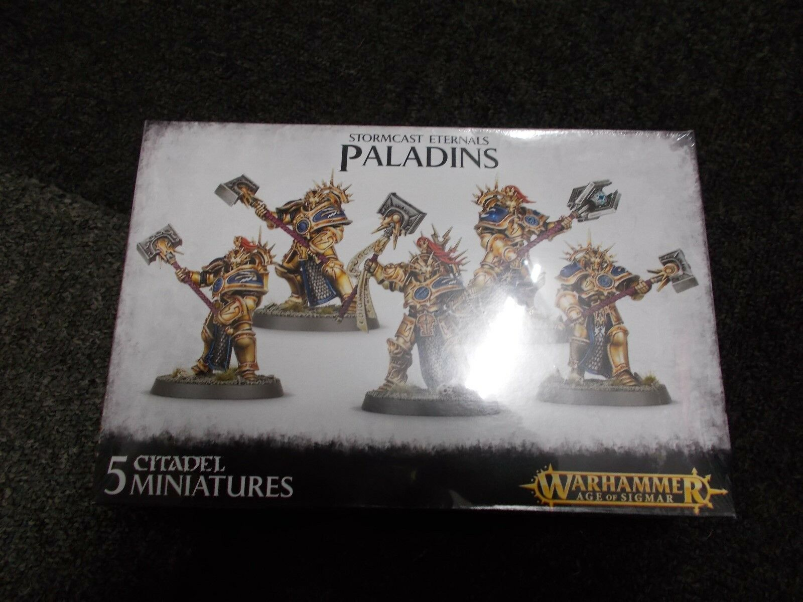 GAMES WORKSHOP WARHAMMER AGE OF SIGMAR STORMCAST ETERNALS PALADINS