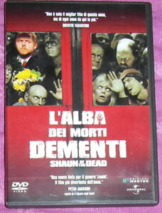 ALBA DEI MORTI DEMENTI Shaun of the Dead DVD - Italia - ALBA DEI MORTI DEMENTI Shaun of the Dead DVD - Italia