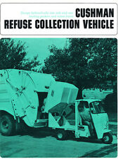 1967 Cushman Motor 3-wheel vehicle Original Car Dealer Sales Brochure Folder