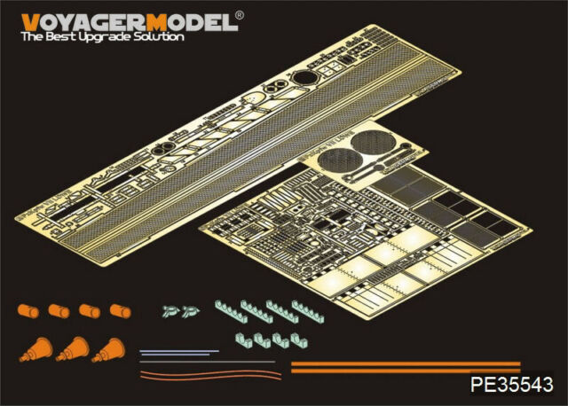 Voyager 1/35 PzKpfw.VII Lowe Detail Set for Amusing Hobby 35A005