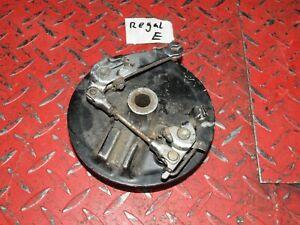 Bremsankerplatte vorne Bremse front brake plate Honda XL 500 R PD02