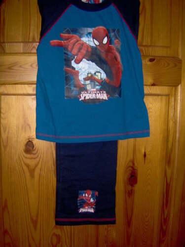 Ragazzi Spiderman Pigiama in Blu o Blu scuro-età 9/10 -7/8 -5/6 -4/5 anni