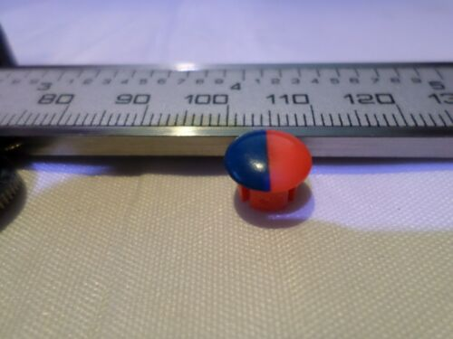 Mono Tap Indice Push-In red and blue   Replacement Indicator Bathroom Basin