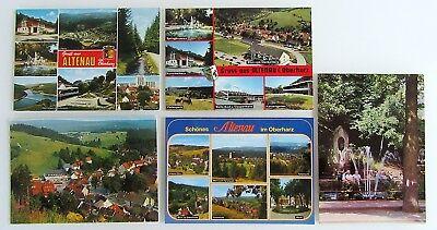 Der GüNstigste Preis 5 X Altenau Oberharz Harz Postkarten Ansichtskarten Lot Ungelaufen Ab ~1970 Eleganter Auftritt