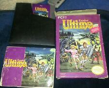 Ultima: Exodus  (Nintendo, 1987) NES FCI Instructions Rare