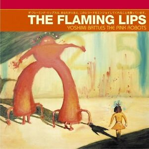 Flaming-Lips-YOSHIMI-BATTLES-THE-PINK-ROBOTS-Gatefold-NEW-RED-COLORED-VINYL-LP