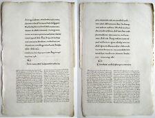 """Bern Missale MANUSCRIPT Karolingische Minuskel HANDSCHRIFT Wasserzeichen """"Anker"""""""