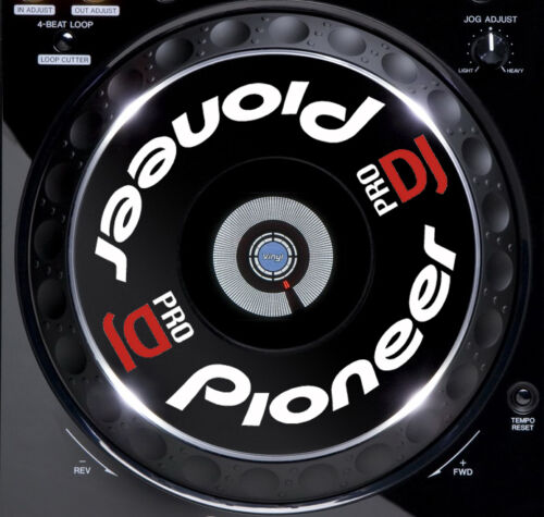 2000-1000-900-850-800 NEXUS NXS ALL MK/'S PIONEER CDJ JOG DIAL SLIPMAT GRAPHICS