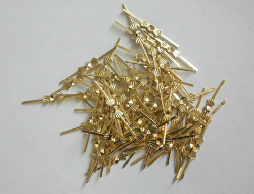 100x crystal bead metal connector golden silver pins  for Chandelier lamp Parts