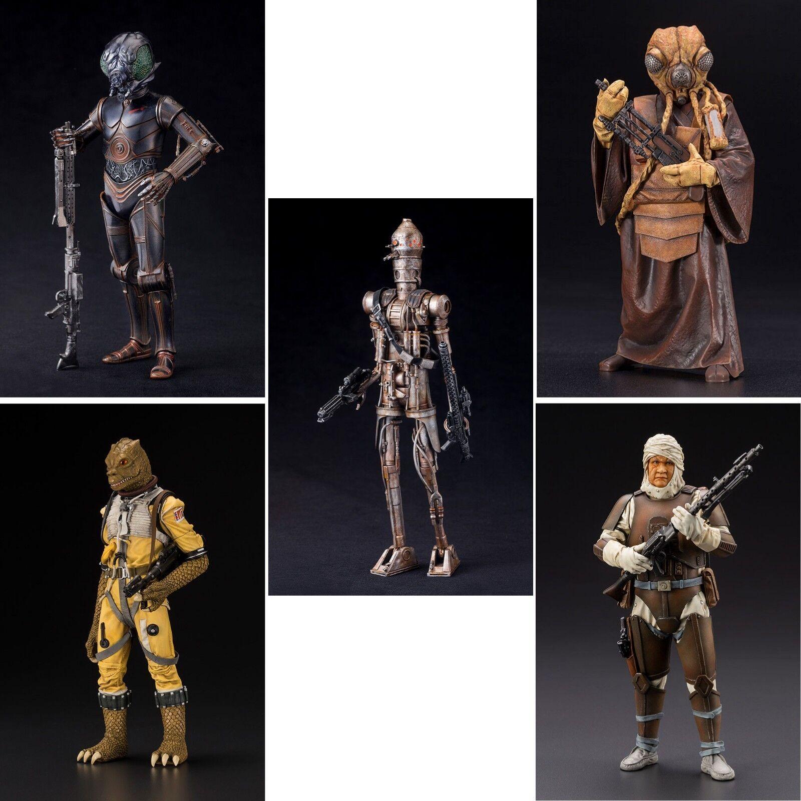 Estrella Wars cazadores de recompensas ArtFX + estatuas por Kotobukiya Baf Boba Fett-Elige