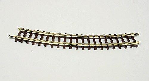 22225 FLEISCHMANN Gebogenes Gleis R4  Radius 329 mm 15° Spur N 1 Stück