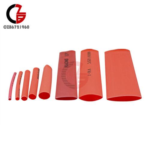 140PCS Polyolefin Heat Shrink Tubing Tube 2:1 Kit Sleeve Retardant 5 Size 7Color