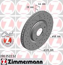 Bremsbeläge Vorne Brembo2 Bremsscheiben COATED DISC LINE Belüftet Ø 305 mm