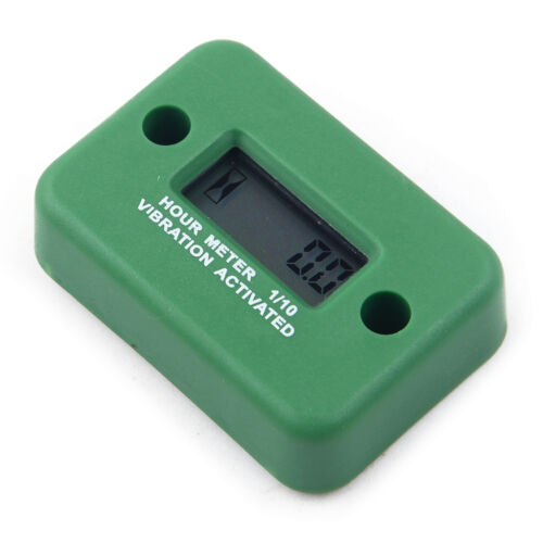 Digital Vibration Hour Meter Screw for Motorcycle ATV Snowmobile Boat Gas Engine