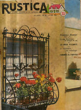 RUSTICA n°20 1956 poule wyandotte parpaings fleurs
