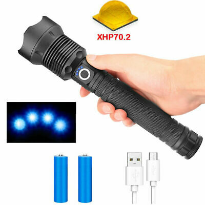 Tactical Ultrafire 50000Lumens T6 LED Zoomable 18650 Flashlight Torch Lamp ∆