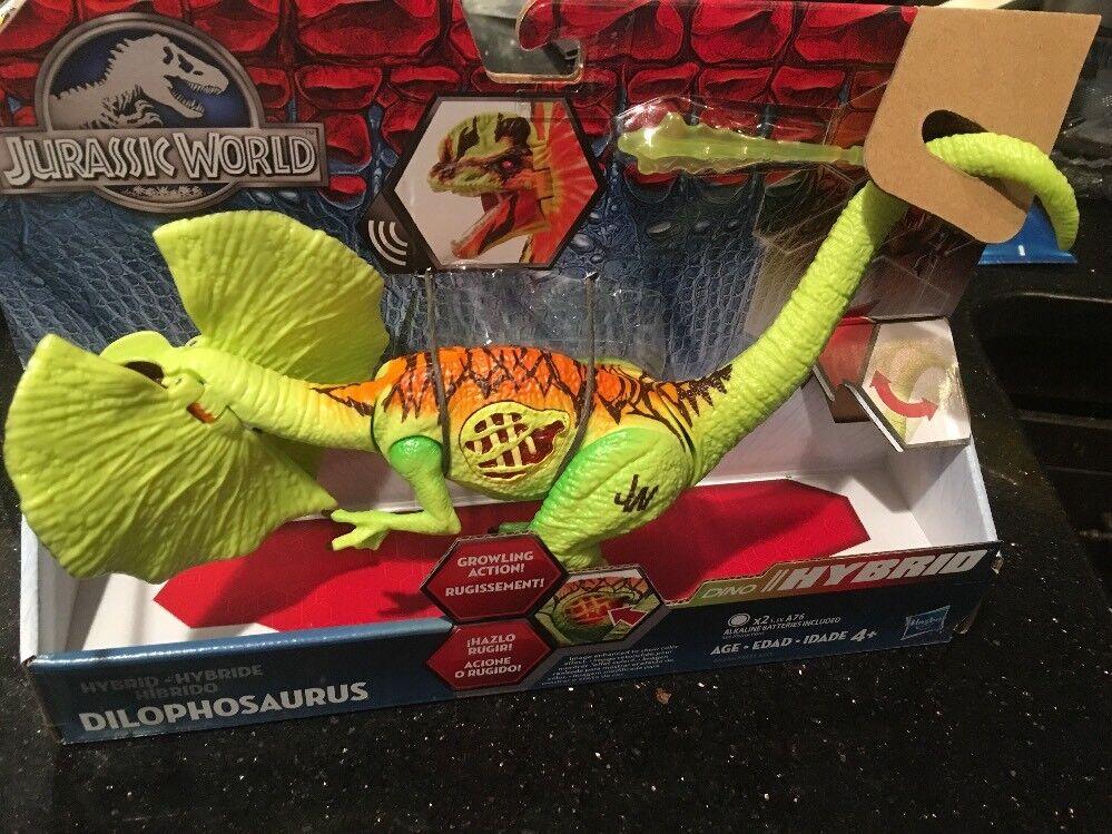 Jurassic park  welt growler hybrid dilophosaurus actionfigur neues spielzeug