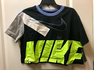Nike Women's Short Sleeve Crop Top Sportswear