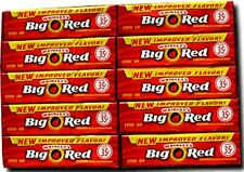 Wrigleys Big Red Gum 40 pack (5ct per pack) (Pack of 2)