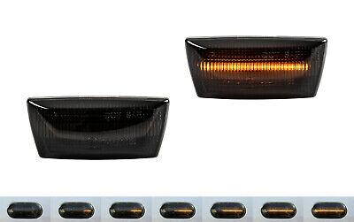 2 X DYNAMISCHE LED SEITENBLINKER BLINKER SMOKE für Opel Zafira B SB15