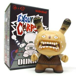 Exquisite Corpse Dunny Kidrobot Mini Figure Mr Hubert 35mm 1//24 Rarity