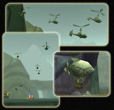 WoW Warcraft NUEVO Papel Avión LOTE Carta