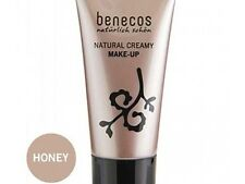 Brand New Benecos All Natural Creamy Flawless Matte Foundation Honey 1oz
