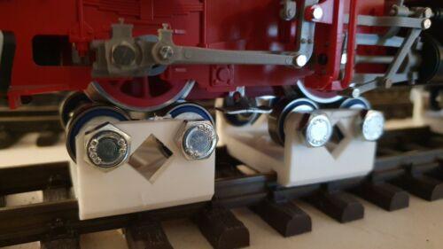 PIKO Stahlschrauben LGB u Spur 1 Spur G 4-teilig 12012 Rollenprüfstand