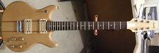 1980 Vantage VS-650 Matsumoku Natural Finish Double Cutaway Electric Guitar