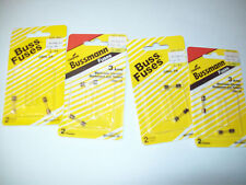 3 Pack GMA-3A BUSS BUSSMANN FUSES and 1 GMA-2A