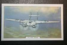 Cunliffe Owen Flying Wing     Vintage Card #  VGC