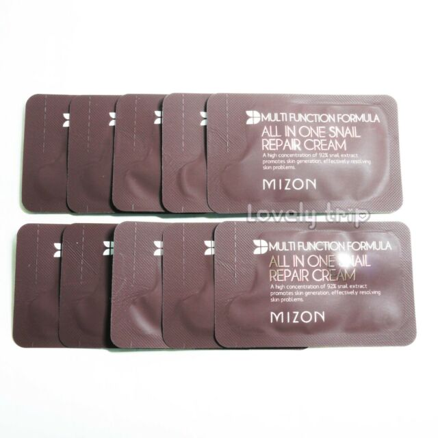 [MIZON] ALL IN ONE SNAIL REPAIR CREAM Sample 10pcs