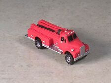 N Scale 1954 B Model Mack  Fire Pumper