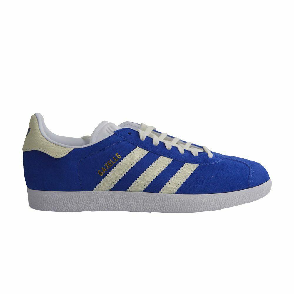 Mens Adidas Gazelle - B416848 - Blau Off Weiß