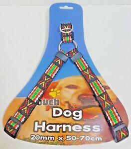 Pet-Touch-Dog-Puppy-Nylon-Leash-Lead-Harness-20mm-x-50-70cm
