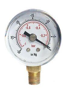 Vacuum-Gauge-30-Hg-amp-1-0-Bar-40mm-Dial-1-8-BSPT-Bottom-connection