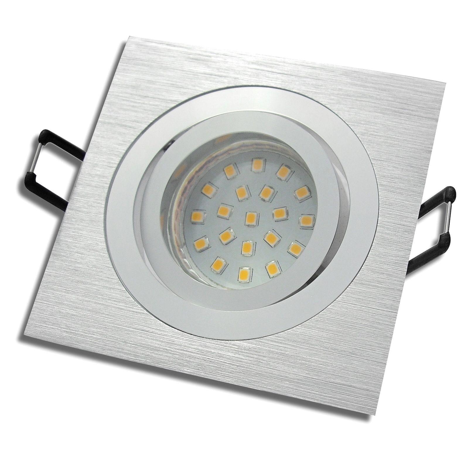 1-10er Sets   LED Einbaustrahler Mia   230V   5W = 50W   Step dimmbar 3 Stufen
