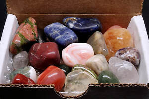 Tumbled-Stone-Collection-1-2-lb-Polished-Mineral-Mix-Natural-Colors