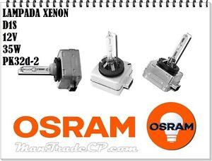 OSRAM XENARC ORIGINAL D1S 35.00W Lámpara de Xenón para Coche