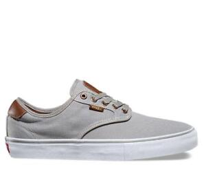 Vans-shoes-Chima-Ferguson-Brushed-Twill-Grey-Skateboard-Sneakers-FREE-POST