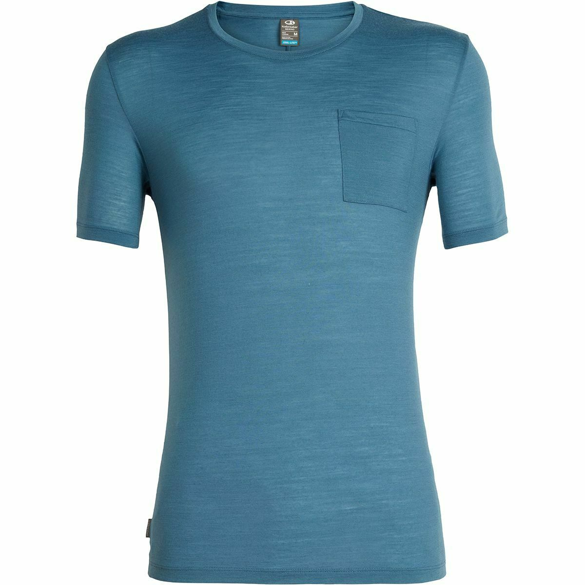 Icebreaker Herren Solace Pocket Crewe T-Shirt Merinoshirt NEU