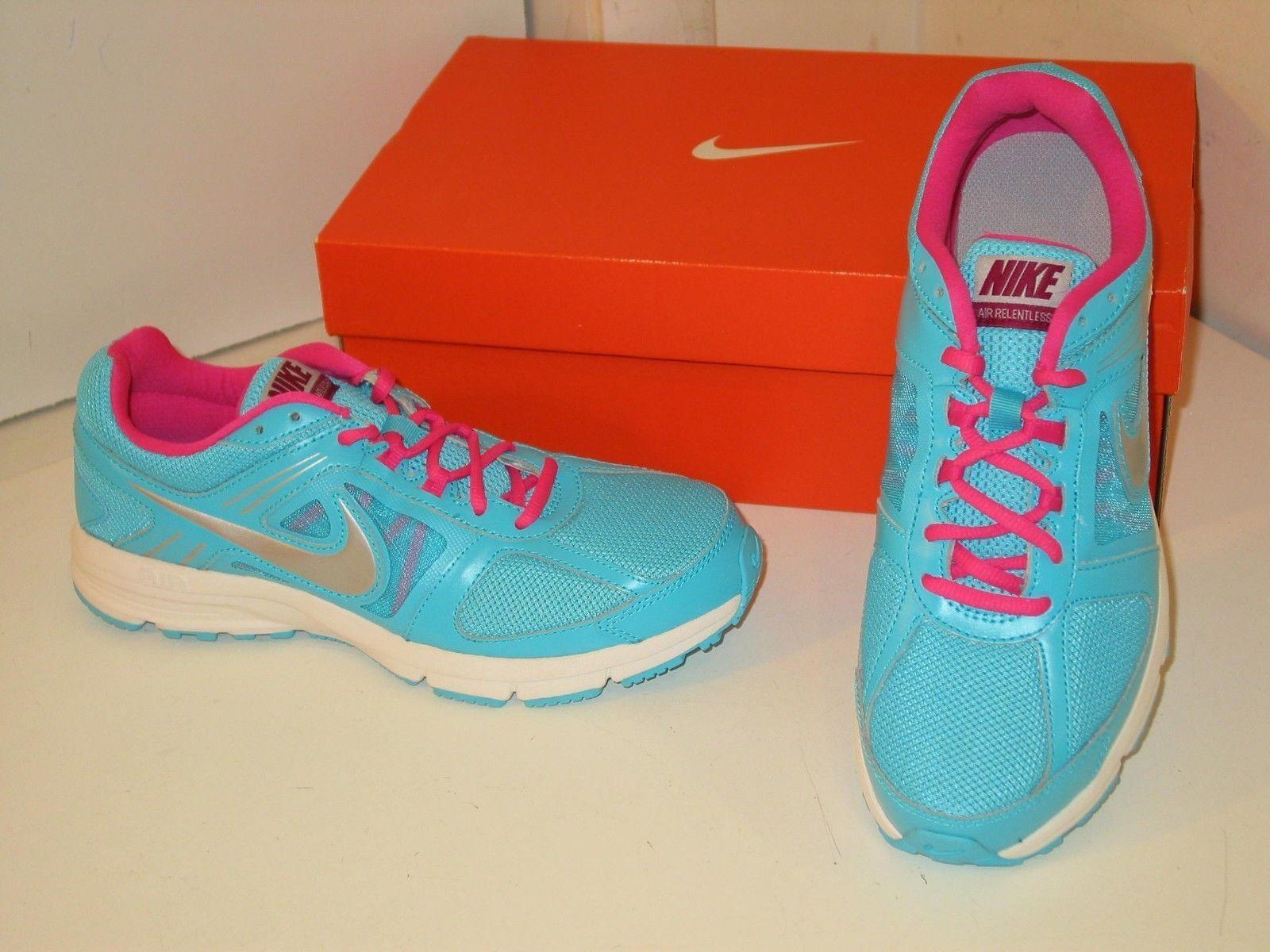 Nike Air Relentless 3 Running Cross Training Blue Mesh Sneakers Shoes Womens 6.5